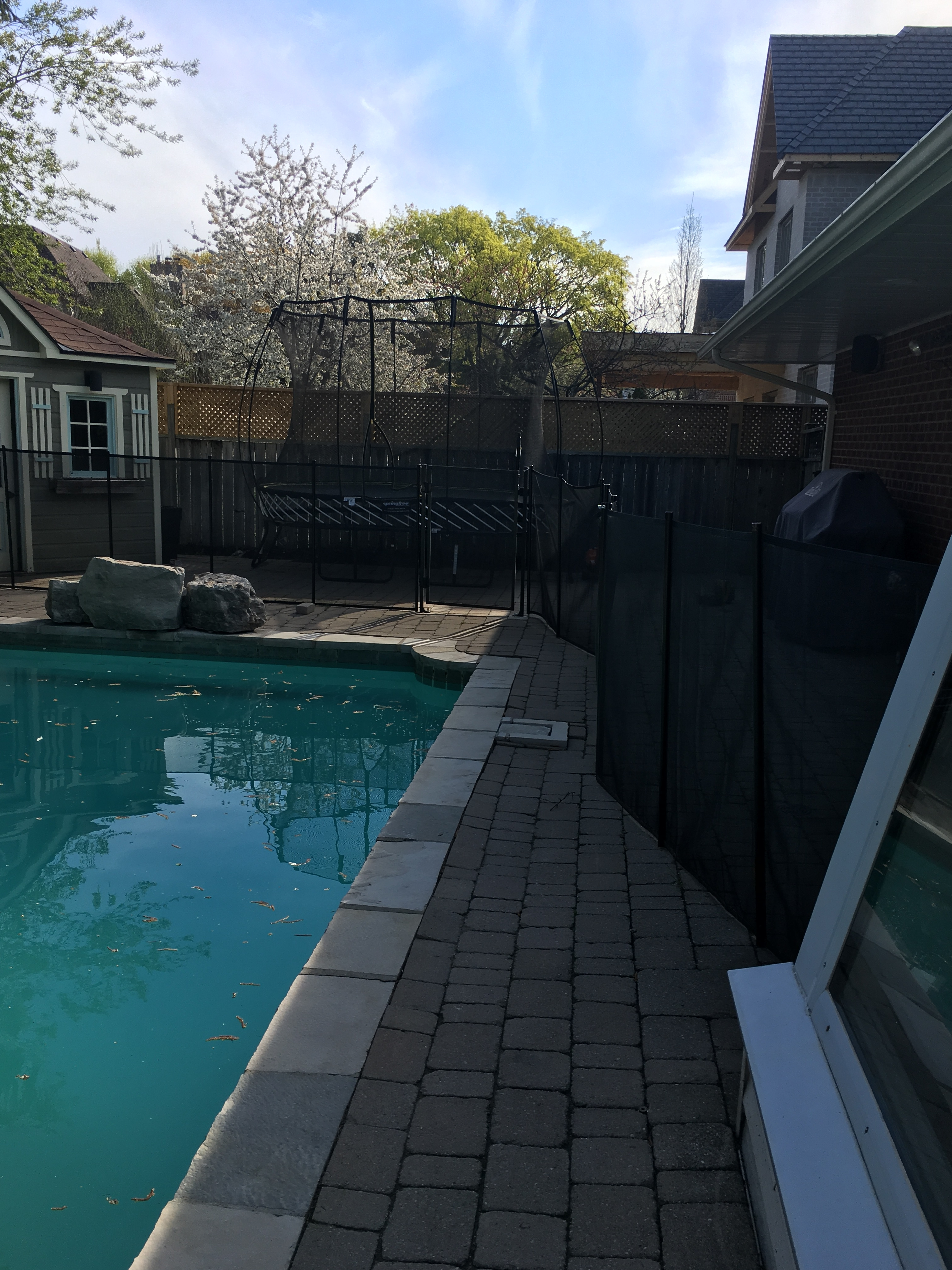 Poor Do It Yourself Installations Guardian Pool Fence