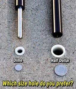 Which Size Hole?