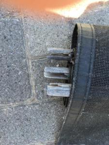 fibreglaspole